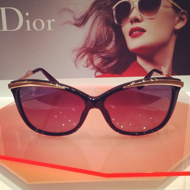 The latest Dior Sunglass