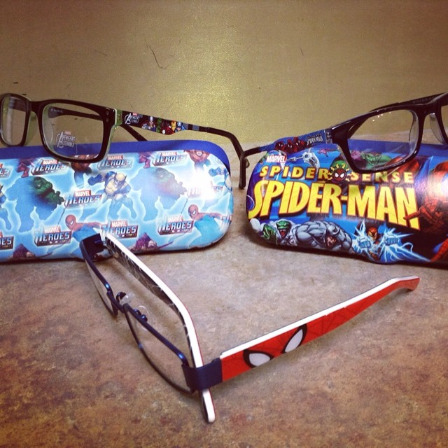 Cute new Spider-Man and Marvel Hero frames!